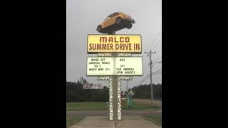 Malco Summer Drive In Marquee