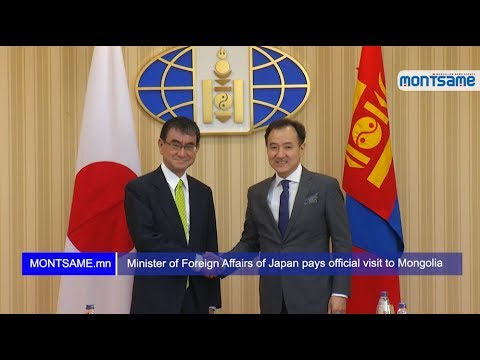 Foreign Minister holds official talks with his Japanese counterpart