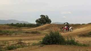 preview picture of video 'circuit motocross castello d'empuries, bad Carlos production'