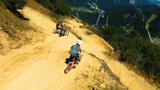 [8K] Loose Riders x FPV Drone | Cinematic FPV on Vink Line at Bike Park Chatel