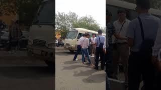 1августа 2018году в г.Атырау на вогзале задержали водного полицию за 50.000тысяча тенге