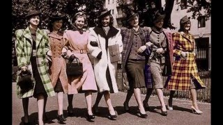 1940s And 1950s Fashion And Life!