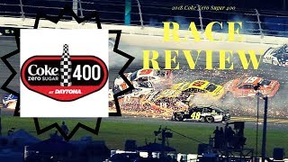 2018 Coke Zero Sugar 400 Race Review