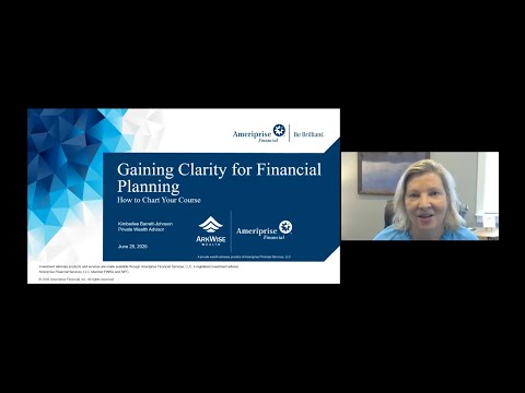 Gaining Clarity for Financial Planning: How to Chart Your Course