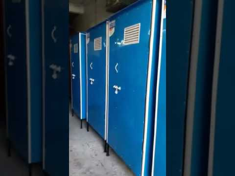 FRP Twin Toilet Cubicals