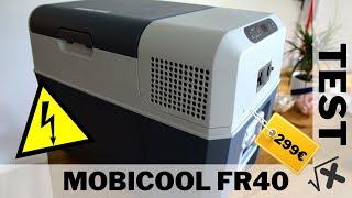 Kompressor-Kühlbox unter 300€   Mobicool FR40/MCF40   Test und Fazit