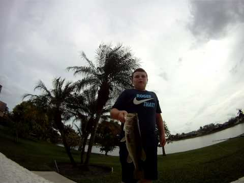 2/2/2012 Zmanlane with the bass college, florida pond fishing