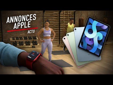 iPad Air, Apple Watch Series 6, Apple One : ce qu'il faut retenir de la keynote Apple
