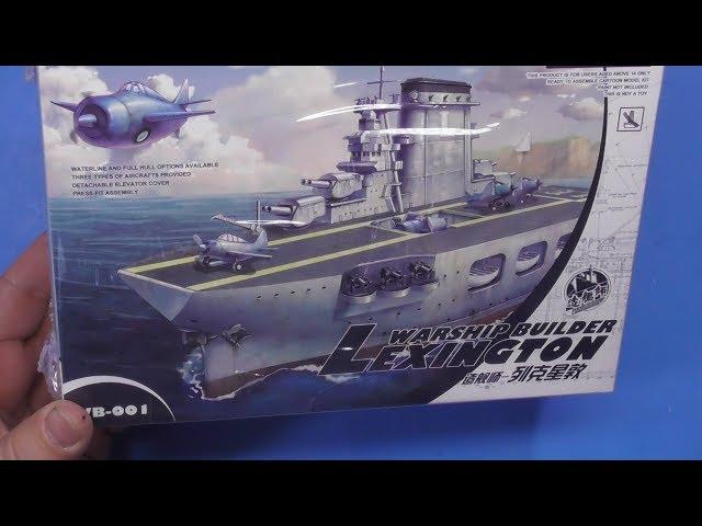 MNGWB-001 Meng Model Warship Builder Lexington Cartoon Ship