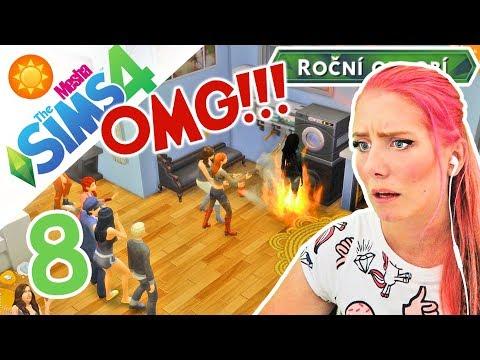 VŠECHNY NAŠE SNY V PLAMENECH! A HLODAVČÍ HOŘEČKA ● The Sims 4 - ROČNÍ OBDOBÍ