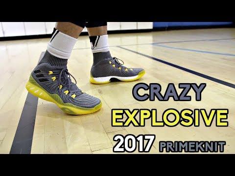 Adidas Crazy Explosive 2017 Primeknit Performance Review!