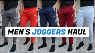 Huge Mens JOGGERS Try-On Haul (Nike, Adidas, The Couture Club)