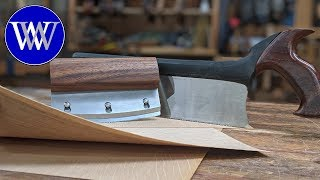 How to Cut Veneer with Hand Tools
