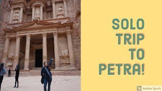preview picture of video 'Solo Trip to Petra!'