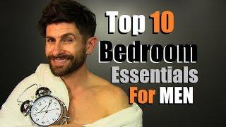 Top 10 Mens Bedroom Essentials EVERY Guy Needs