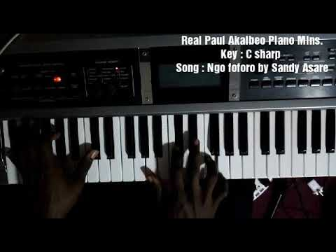 Sandy Asare Ngo foforo Piano Moves influenced by Anderkay