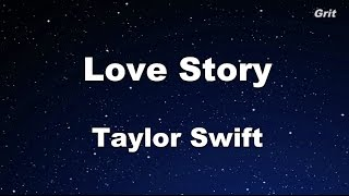 Love Story – Taylor Swift Karaoke【With Guide Melody】