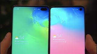Samsung Galaxy S10 vs Galaxy S10 Plus: The Differences!