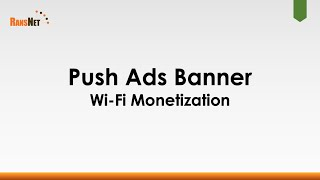 Monetize Wi-Fi with Landing Page Ads