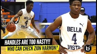 SHIFTIEST Guard In America!? Zion Harmon CAN'T BE GUARDED 1 on 1!!
