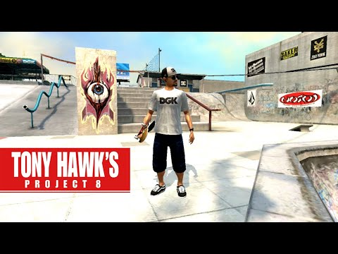 Tony Hawk's Project 8 GAPS! - Skatepark (PS3 Gameplay)