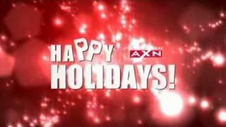 Chandra, Patrick, Justin et autres acteurs US. Happy Holidays! Pour la chaîne AXN