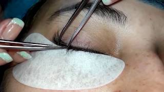 наращивание ресниц. шаг за шагом 2D. ПРАКТИКА МАСТЕР КЛАСС! eyelash extensions. step by step 2D