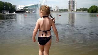 купание на Свияге