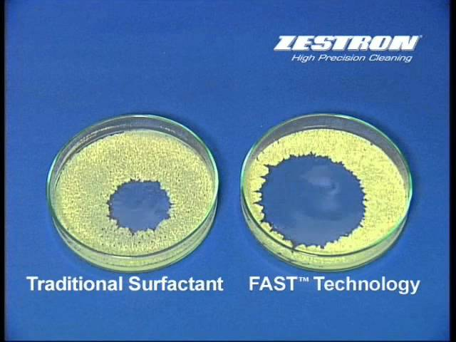 ZESTRON FAST® (Fast Acting Surfactant Technology) Technology