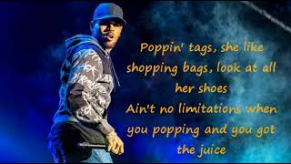 Chris Brown-Save it for me (Lyrics)