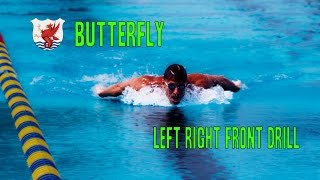 Swimisodes - Butterfly Swim Drill - Left Right Front Drill