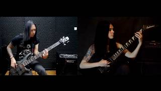 Dream theater - Constant Motion (guitar & bass cover)
