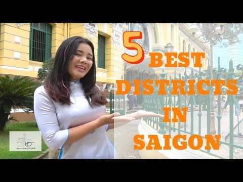 The 5 Best Districts in Saigon for travelers
