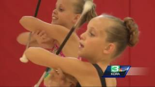 Sisters claim 15 national titles for baton twirling