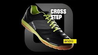 Кроссовки Andro CROSS STEP белый синий
