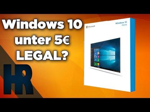Windows 10 für unter 5€ legal? Windows 10 günstig kaufen