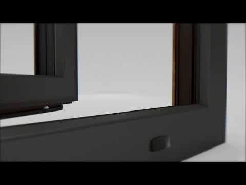 Piękne okno w dwóch kolorach - Vetrex V82 Bicolor - zdjęcie