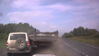 OffRoad 4х4. Авария два УАЗа и грузовик ( Car Crashes into Truck