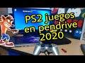 ps2 juegos En pendrive 2020 tutorial