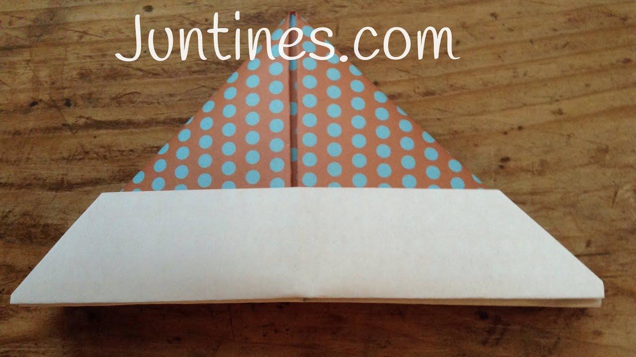 ORIGAMI fácil para niños | Cómo hacer un GORRO de papel