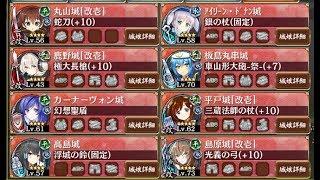 討伐武将大兜!藤堂高虎後難城プロRE☆4以下イベユニ