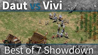 AoE2 Expert Showdown | Daut vs Vivi | 200$ Showmatch in FULL