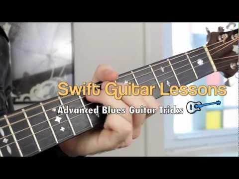 Blues Guitar Lesson - Walking Blues Trick