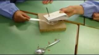 Materia e materiali - Esperimento 1 - Intaccare