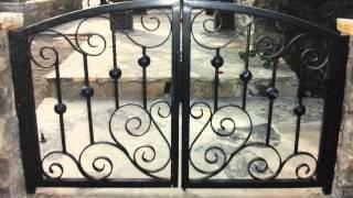 Lees Iron Works Wrought Iron Gates Fences And Railing
