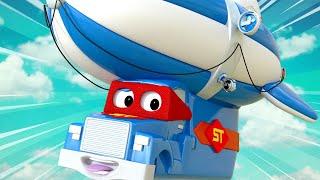 Videa s náklaďáky pro děti - Vzducholoď - Supernáklaďák ve Městě Aut
