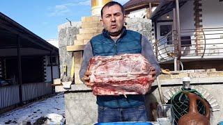 МЯСО в духовке по-кавказски. ENG SUB.