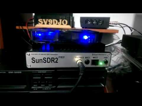 Sunsdr2 Pro and RemoteQTH band decoder connection over LAN (Mikrotik