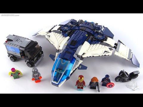 LEGO® Super Heroes Погоня мстителей в Квинжет Сити 76032