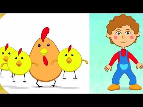 Песенки для детей - Песенка про птичек развивающая обучающая песня